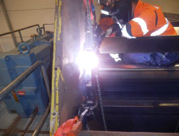 Chain conveyor repair