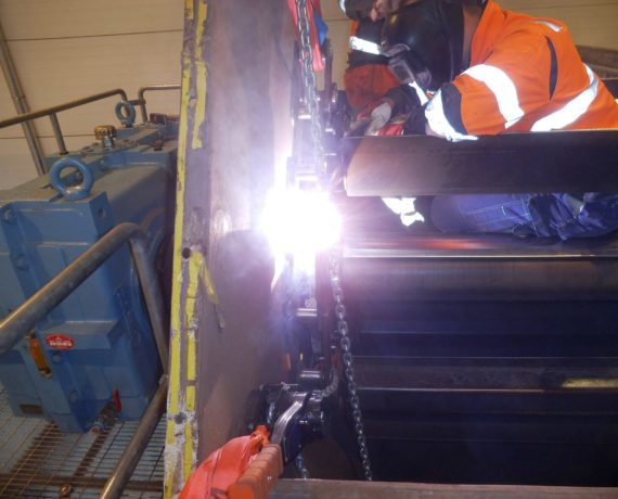 Chain conveyor repair